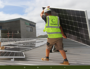 CleanEarth solar installation for SAPC